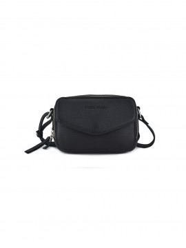 Daniel Silfen Katrine handbag - Black leather