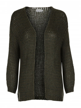 Gila & Feldt Kachey big knit cardigan - Green