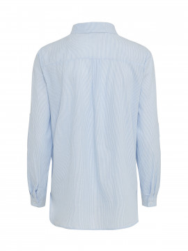 Gila & Feldt Anna stripe shirt - Light blue