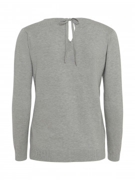 Gila & Feldt Alberte Pelican knit - Light grey