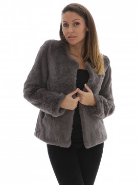 Chopin Babette rabbit jacket - Grey