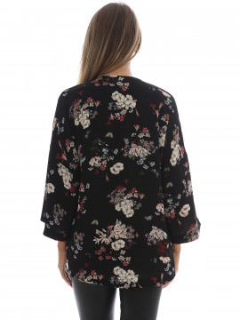 Chopin Randy flower jacket - Black