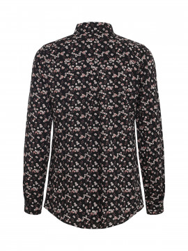 Chopin Sofie small flower shirt - Black