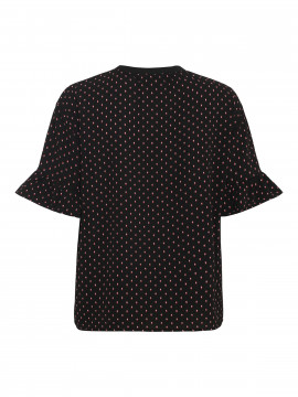 Chopin Smila S/S top - Black