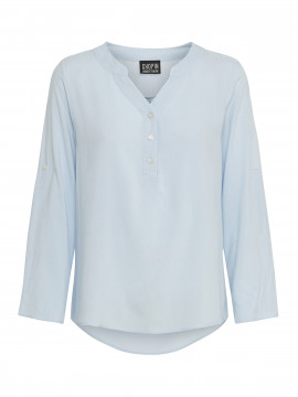 Chopin Selena plain shirt - Light blue
