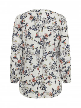 Chopin Sans flower shirt - White