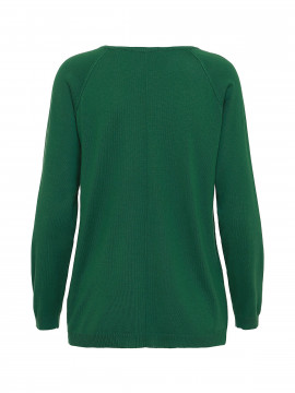 Chopin Sarah v / neck knit - Green