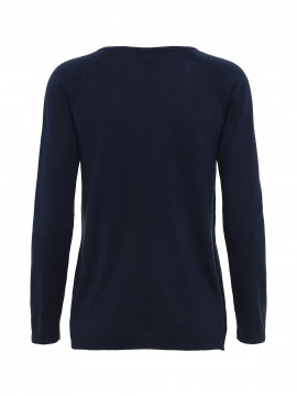 Chopin Sarah v / neck knit - Navy