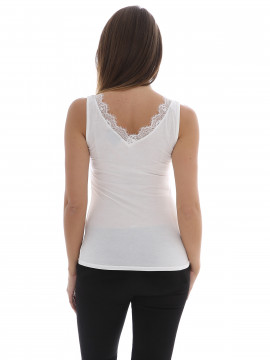 Chopin Simi lace top - White