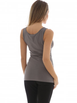 Chopin Sue II tank top - Solid grey