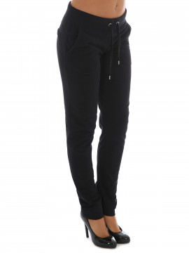 Blue Sportswear Feline pants - Black