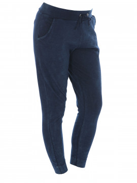 Blue Sportswear Amy thin indigo pant - Dark denim blue