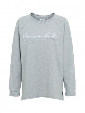 Blue Sportswear Agnes sweat - Light grey melange