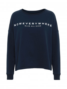 Blue Sportswear Bessie sweat - Navy