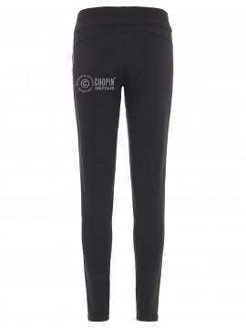 Blue Sportswear Evita stripe tights - Black