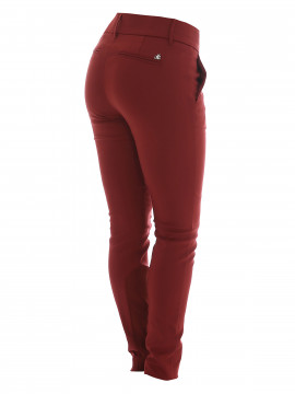 Mos Mosh Blake night pants - Ruby red