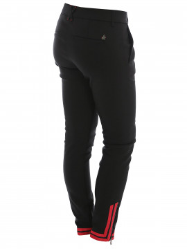 Mos Mosh Abbey Zip pant - Black