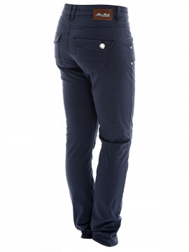 Mos Mosh Nelly colour pant - Navy