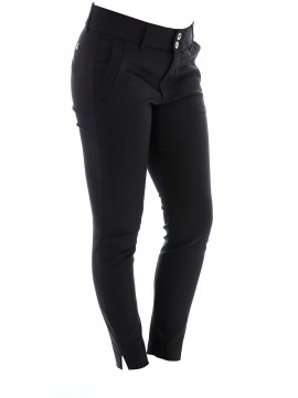 Mos Mosh Blake Tuxen night 7/8 pant - Black