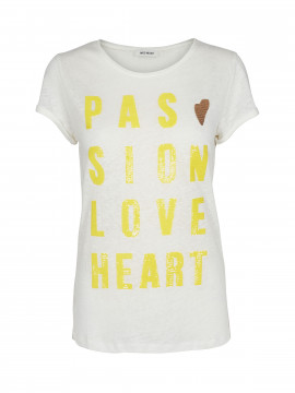 Mos Mosh Crave summer tee - Limone