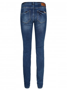 Mos Mosh Berlin Zip jeans - Blue denim