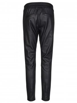 Mos Mosh Levon leather pant - Black