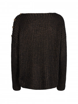 Mos Mosh Ava Knit - Black