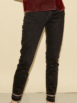 Mos Mosh Sumner glam jeans - Black denim