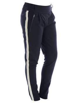 Prepair Fanny stripe pant - Navy blue