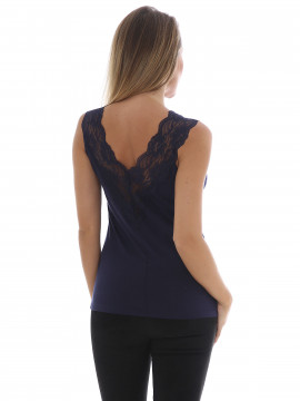 Soft Rebels Hedge lace top - Night sky