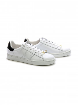 Philip Hog Serena leather sneakers - White / black