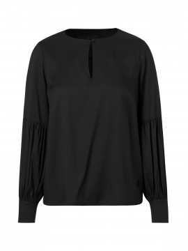 CS#15 Baloon L/S  top - Black