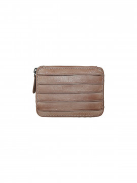 Black Colour Line wallet - Dusty rose