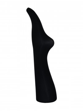 Black Colour 3D Microfiber tights - Black