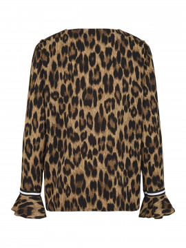 Continue Fanny top - Leopard