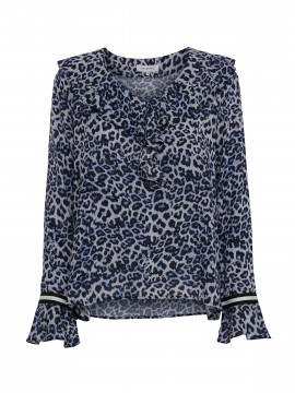 Continue Fanny leo shirt - Blue