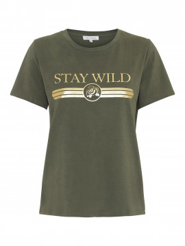 Continue Freja Tee - Army