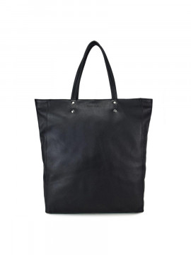 Daniel Silfen Carla shopper - Black leather