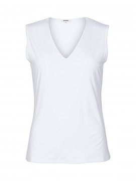 Blue on Blue Femme Vigga tank top - White