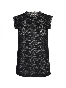 One Two Ady lace top - Black