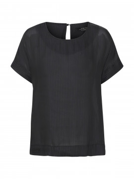 One Two Luxzuz Frances top - Black