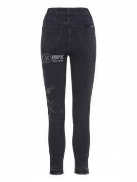 Jonny Q X-fit jeans - Black washed