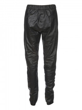 Depeche Haag leather pant - Black